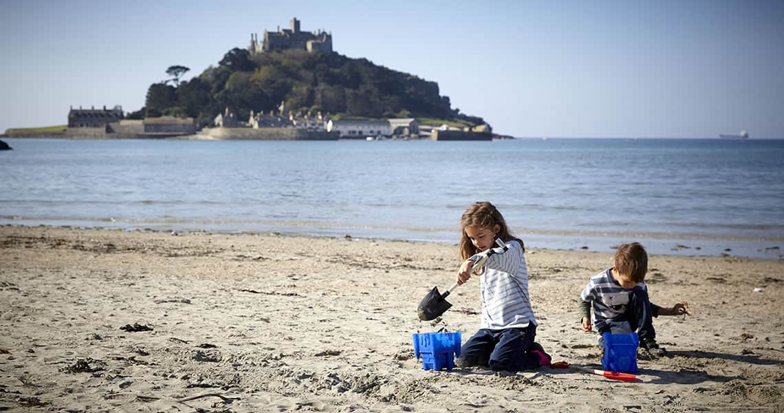 Marazion Beach nearby